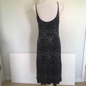 LOFT Dresses - LOFT Navy Shibori Tie Dye Sundress